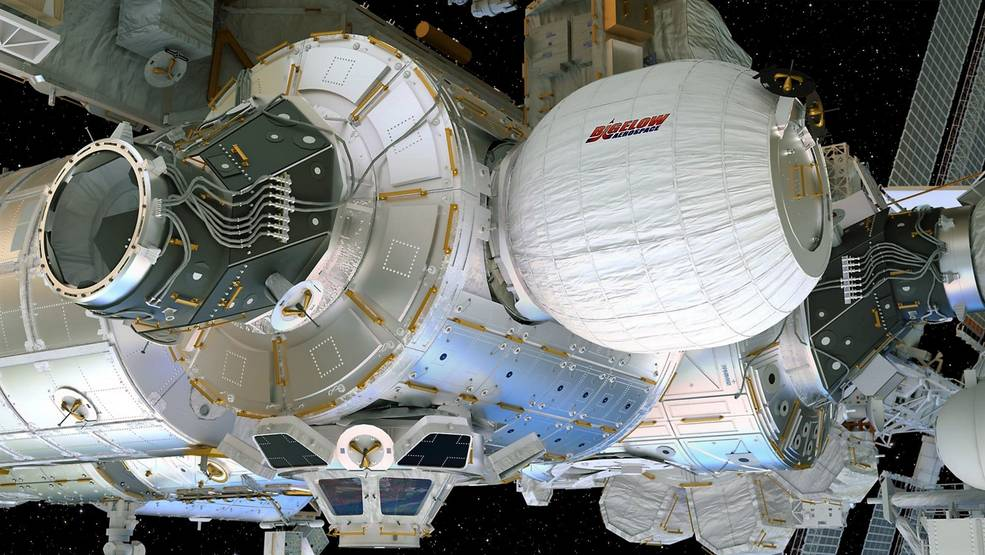 BEAM, the inflatable module for the International Space Station, will be attached this weekend.