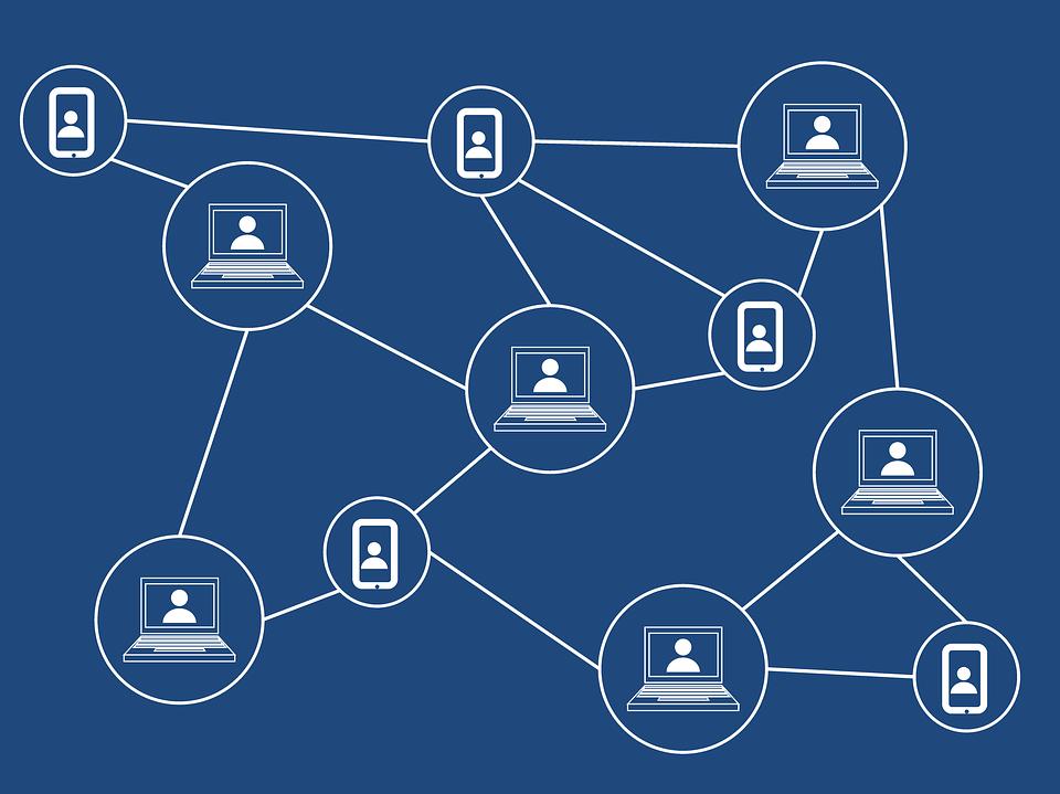 blockchain illustration, credit: public domain