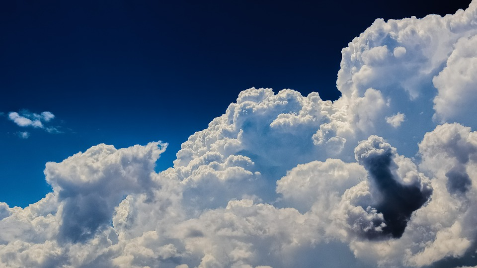 Aerosols play a role in cloud composition. Photo: Pixabay