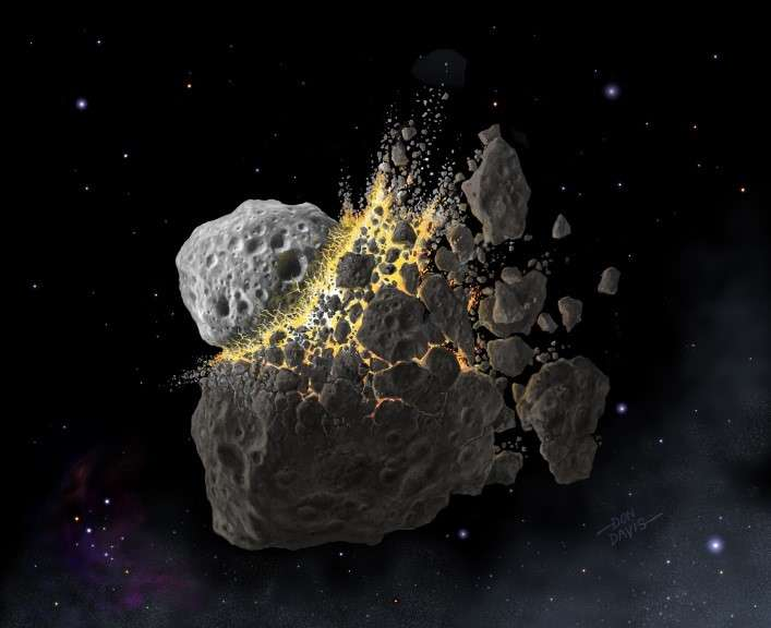 A space rock collision that took place 466 million years ago could have changed the types of meteorites that collided with Earth for millions of years.