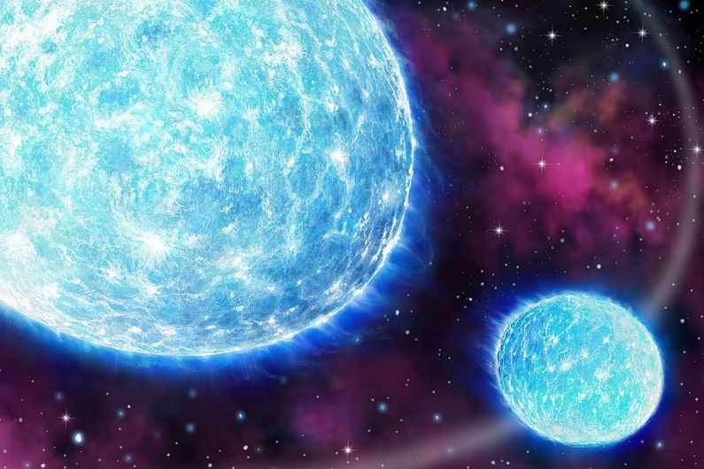 The Iota Orionis binary system exhibits a 'heartbeat' as the two stars get closer to one another in their elliptical orbit.