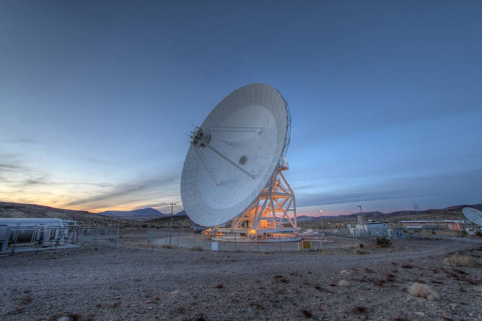 The DSN was one of the antennas used to communicate with the JWST during testing.