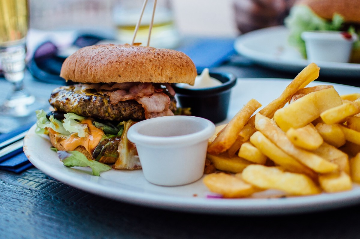 A western diet may be one reason for the change in the microbiome - but it doesn't seem to explain it all / Image credit: Pxhere