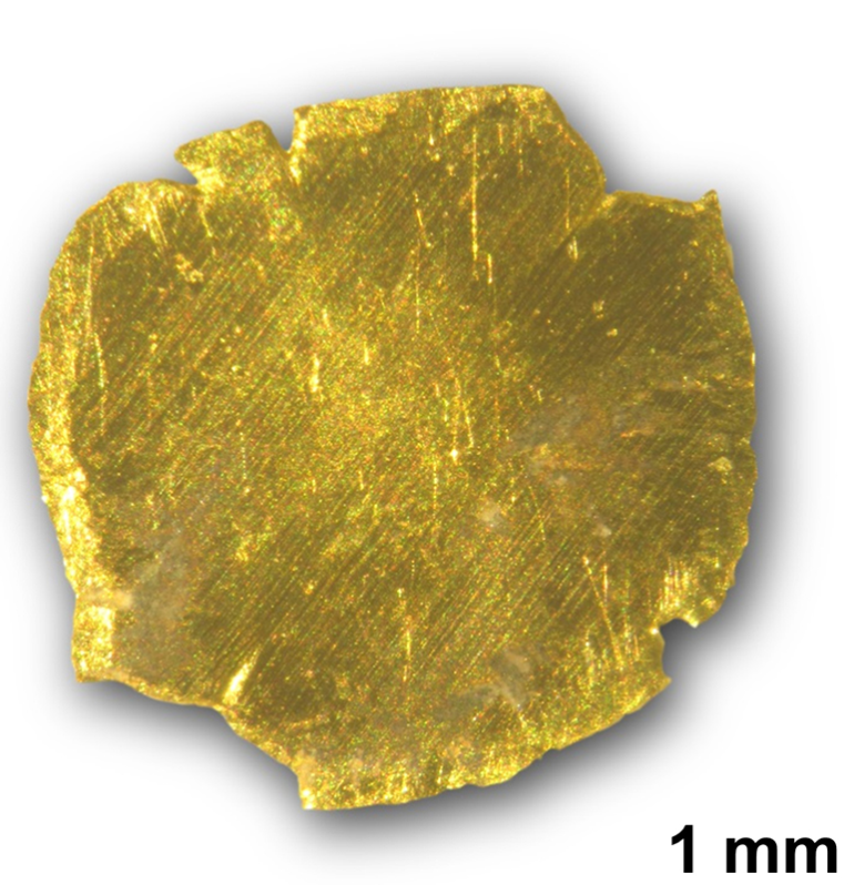 Gold removed and recovered from polluted water.