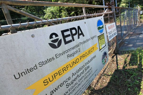 Superfund sites around the country undergo expensive decontamination treatment. Photo: Newsday
