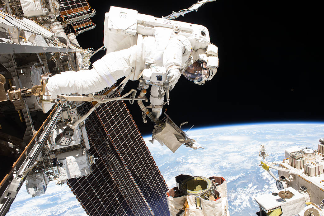 International Space Station, credit: NASA