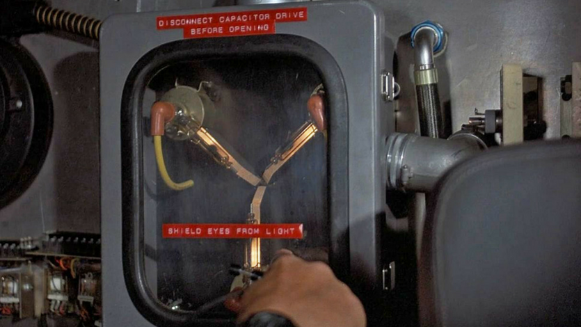"The Flux Capacitor in ""Back to the Future"" (Universal Pictures)"