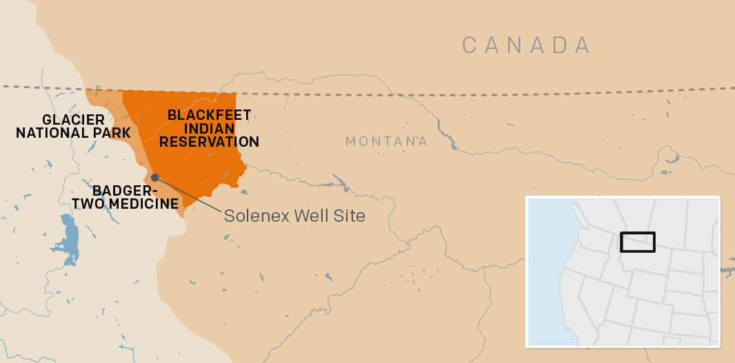 "The  present day Blackfeet Nation  inhabits a fraction of the millions of acres of  their original tribal land . The final land cession of the 19th century occurred in 1895. The  ""ceded strip""  is now part of Glacier National Park."