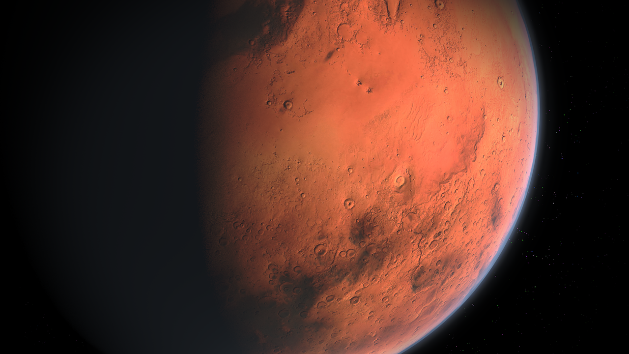 Mars has significantly less protection from cosmic and solar radiation than the Earth does, so astronauts face potential increased risks for cancer if they ever trek the Martian surface.