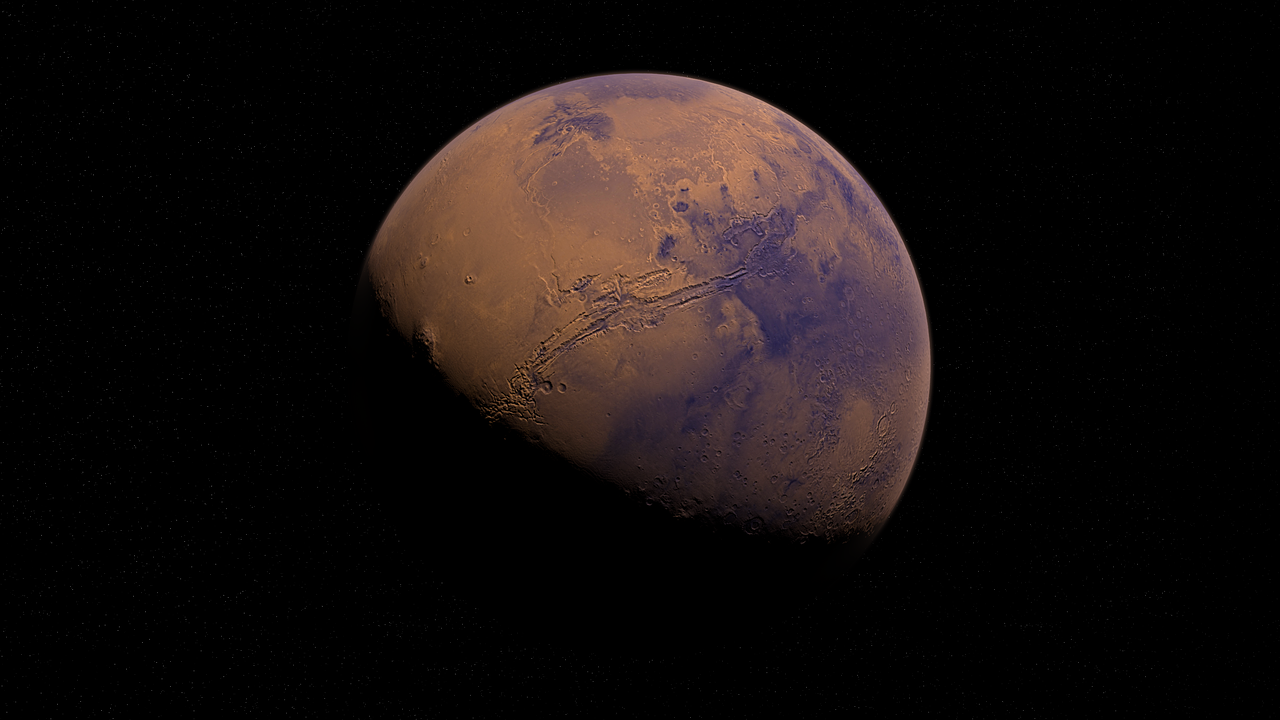 Mars is an eventual goal for both SpaceX and NASA alike.
