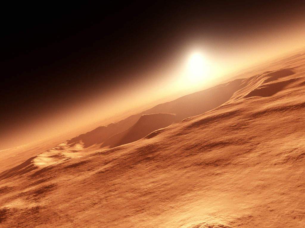 Mars doesn't have a super robust atmosphere, but it does contain some curious isotopes.