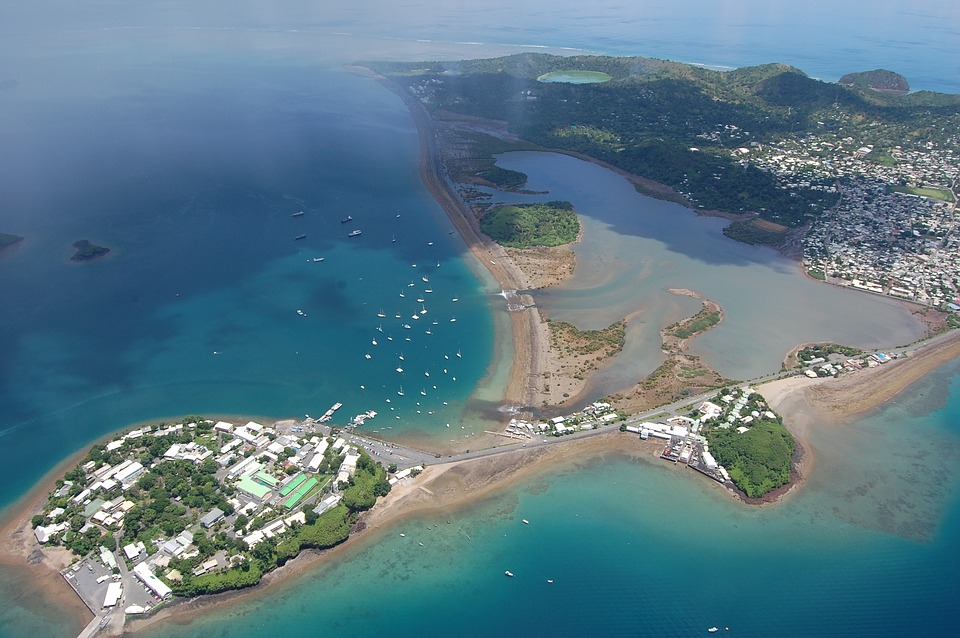 The island of Mayotte, home to recent geological events. Photo: Pixabay