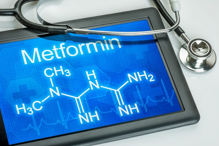 Metformin alters the gut microbiome.