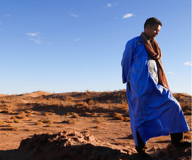 Halim Sbai in The Disappearing Oasis, credit: Contrast VR