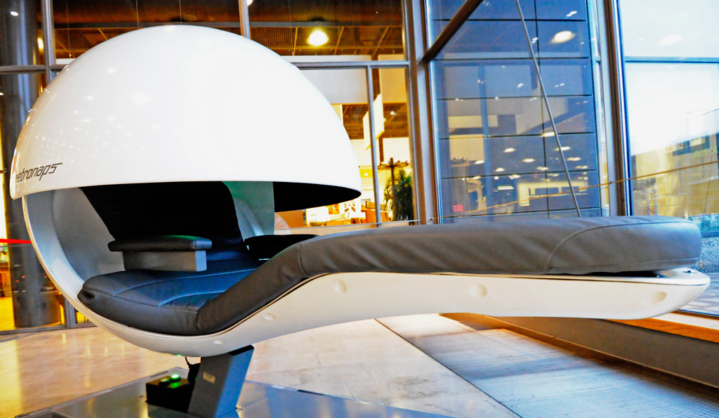 Nasa and google say napping at work is ok for Napping pods google