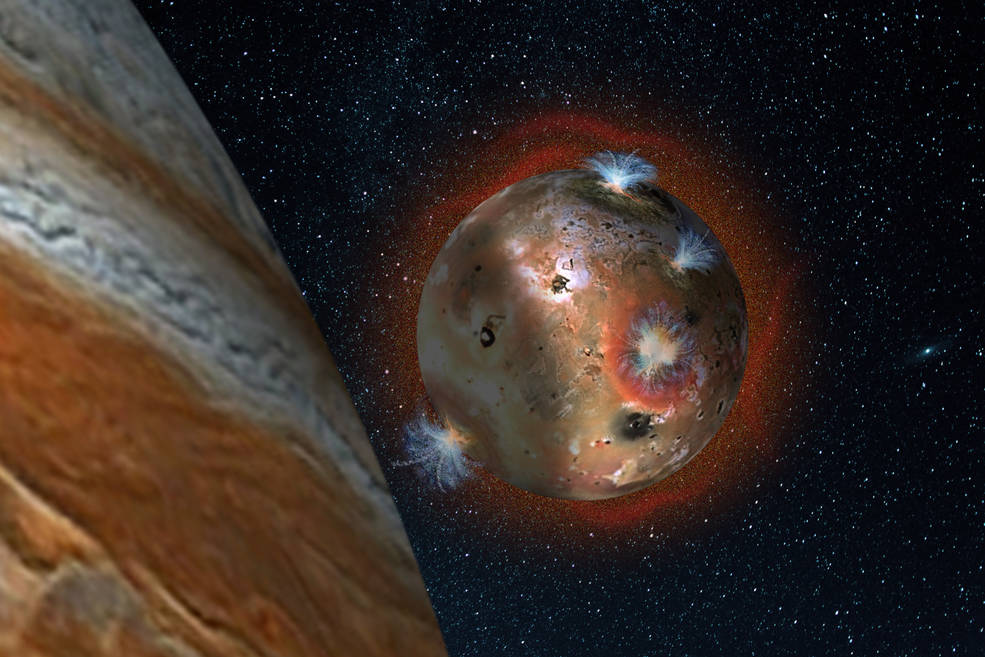 Io reportedly loses its atmosphere when eclipsed by Jupiter.