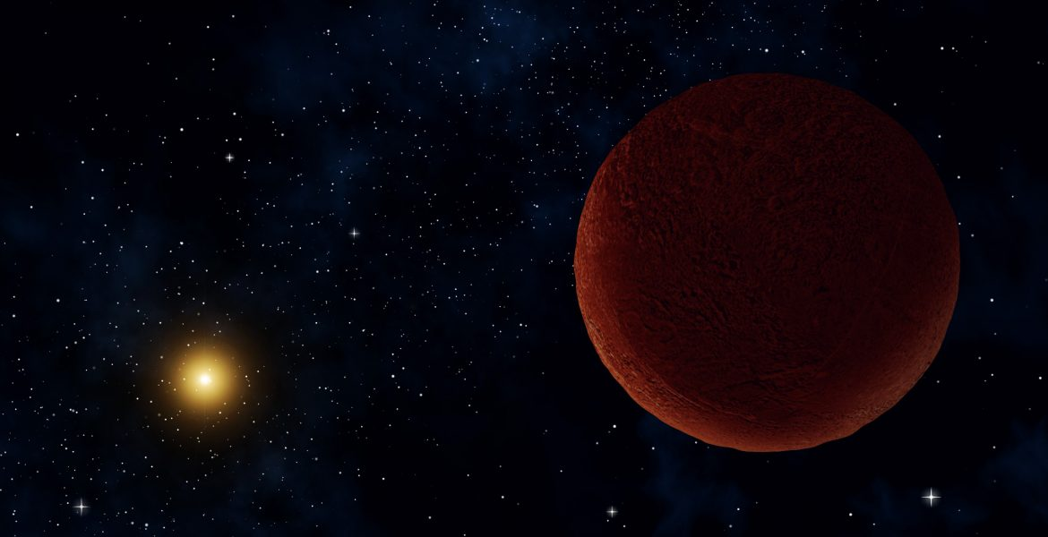 DeeDee, which was originally found just a few years ago, has been observed with ALMA and new details have been revealed.