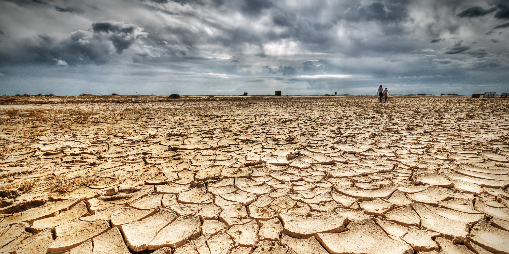 Landscapes are becoming drier. Photo: The Huffington Post