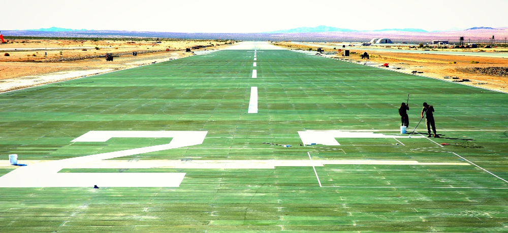 Runway painting, credit: Julio McGraw