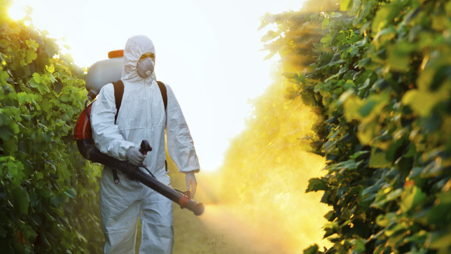Pesticides can hurt the environment, as well as human health.