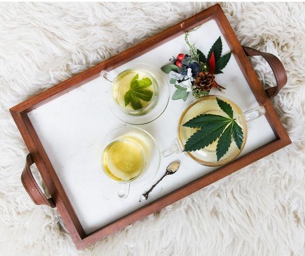 Image: cannabis tea, credit: public domain