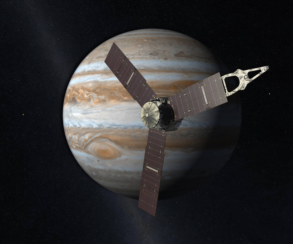 Juno broke a record for manmade spacecraft traveling on just solar power.