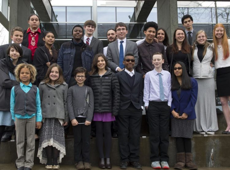 Meet the 21 youths who are suing the government on behalf of the climate. Photo: Robin Loznak