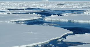 Sea ice is threatened by a low albedo. Photo: Carbon Brief