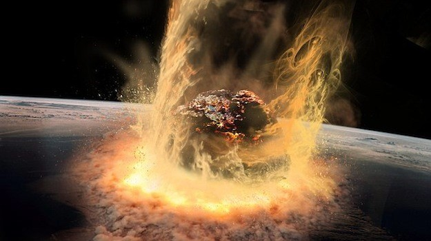 Did a second impact occur after the asteroid that wiped out the dinosaurs?