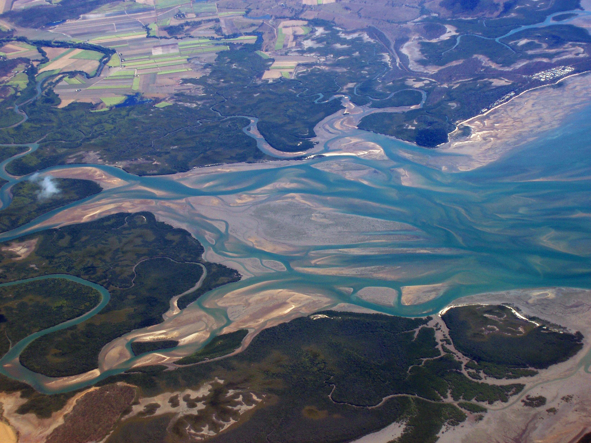 Where the river meets the sea. Photo: Alamance-Burlington School System
