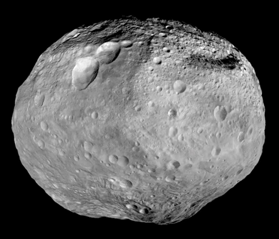 The asteroid Vesta is one thought to contain water